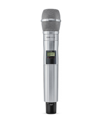 HANDHELD TRANSMITTER WITH KSM9 MIC HEAD (NICKEL)