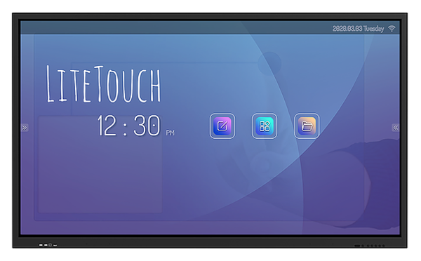 "75"" LITETOUCH 4K ANTI-GLARE TOUCH SCREEN WITH BUILT IN ANDROID PC"