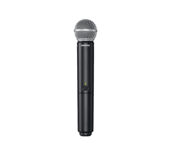 BLX WIRELESS VOCAL HANDHELD SYSTEM WITH BLX4R RECEIVER, & BLX2/SM58 HANDHELD SM 58 MICROPHONE