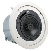 "6"" COAXIAL CEILING SPEAKER SYSTEM WITH 70.7/100V-32W TRANSFORMER & 8OHM BYPASS WITH PORTED ENCLOSURE"