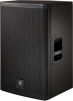 "POWERED 15"" TWO-WAY SPEAKER, BLACK 1000 W / BIAMPED WITH 24 DB/OCTAVE CROSSOVER / 90 X 50 COVERAGE"