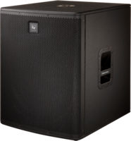 "18"" PASSIVE SUBWOOFER, 1600 WATTS PEAK, BLACK"
