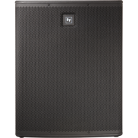 POWERED 18-INCH SUBWOOFER / ELX118 PERFORMANCE WITH SELF-AMPLIFICATION / 32 HZ – 130 HZ FREQ RANGE
