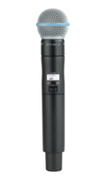 ULX-D DIGITAL WIRELESS HANDHELD TRANSMITTER WITH BETA 58A® MICROPHONE / HANDHELD MIC COMPONENT ONLY