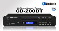 CD PLAYER WITH BLUETOOTH RECEIVER