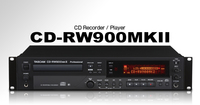 PROFESSIONAL CD RECORDER/PLAYER W/PROPRIETARY TRAY-LOADING TRANSPORT, 24-BITS PROCESSING