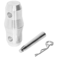 CONNECTOR SET FOR TRUSSES AND CORNERS - 4 SETS(4PCS CONICAL CONNECTOR, 8PCS SPIGOT, 8PCS SAFETY PIN)