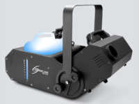 COMPACT, WATER-BASED FOG MACHINE OFFERS A MANUALLY ADJUSTABLE OUTPUT ANGLE OF 180°