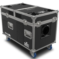 LOW FOGGER ,  INCLUDES: INTEGRATED FLIGHT CASE, FOG-HOSE. CONTROL:  3-PIN DMX, 5-PIN DMX