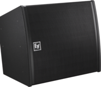 TWO ARRAY ELEMENTS IN EACH MODULE, TWO 8-INCH LOW-DISTORTION WOOFERS, FOUR 1.25-INCH TITANIUM DIAPHR