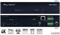 2 INPUTS TO 1 OUTPUT HDMI SWITCHER, AUDIO DE-EMBEDDING OF ANALOG L/R BALANCED/UNBALANCED &
