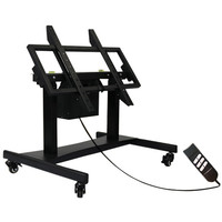 "POWERED HEIGHT ADJUSTABLE AND TILTING MOBILE CART FOR 65"", 75"" AND 86"" LITETOUCH UNITS"