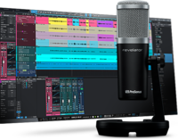 USB MICROPHONE WITH BUILT IN DIGITAL MIXER & LOOPBACK -  INCLUDES STUDIO 1 ARTIST & DESKTOP STAND