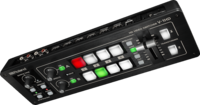 HD VIDEO SWITCHER WITH 4 HDMI INPUTS & 2 OUTPUTS/ SUPPORTS FULL HD 1080P/ 12-CH AUDIO MIXER INCLUDED