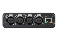 AUDIO NETWORK INTERFACE; FOUR XLR INPUTS (BALANCED AUDIO ONLY)
