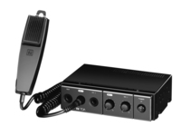 MOBILE MIXER/AMPLIFIER FOR REMOTE APPLICATIONS / 15 W / 4 OR 8 OHMS / HANDHELD MICROPHONE INCLUDED