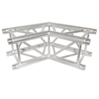 290MM (12IN) TRUSS, 2-WAY, 135 CORNER (8PC MAKES AN OCTAGON) (INCLUDES 1 SET OF CONNECTORS)