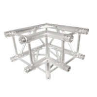 290MM (12IN) TRUSS, 3-WAY, 90 CORNER (INCLUDES 1 SET OF CONNECTORS)