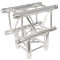 290MM (12IN) TRUSS, 3-WAY,INTIN JUNCTION (INCLUDES 1 SET OF CONNECTORS)